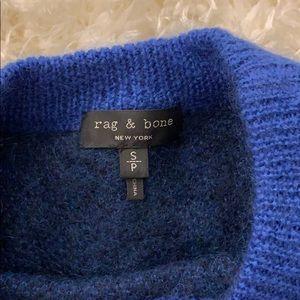 rag & bone Sweaters - Rag & Bone Leopard-Print Mohair Crewneck Sweater